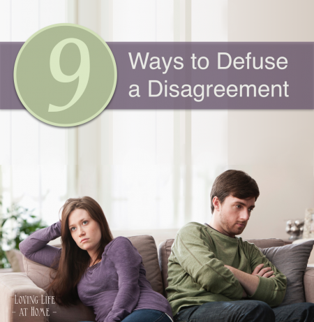 """Abandon a quarrel before it breaks out."" 